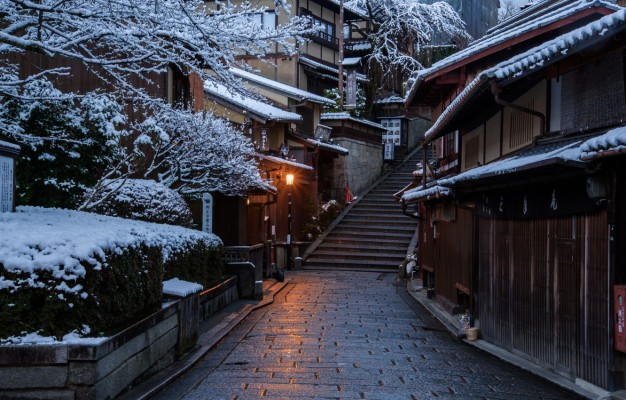 264 2648389 photo wallpaper home winter road the city japan