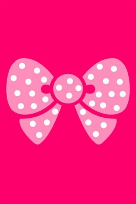 Cute Wallpapers For Ipod Touch Cute Pink Bow Background 640x960 Wallpaper Teahub Io