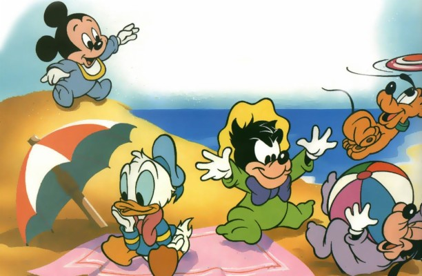Hd Pictures The Cutest Ever Disney Characters At The Beach 1015x663 Wallpaper Teahub Io