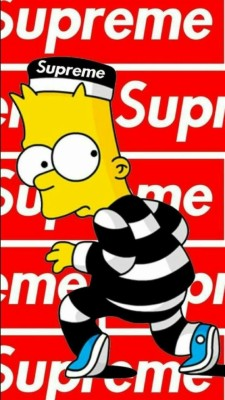 Bart Simpson Wallpaper Iphone - Bart Supreme Wallpaper Hd ...