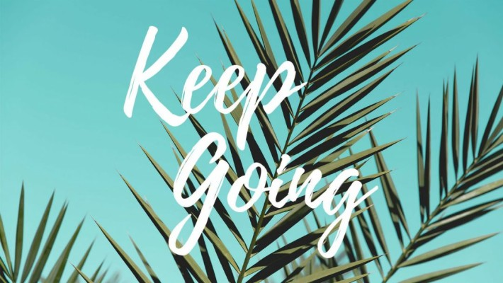 Positive Aesthetic Laptop Desktop Wallpaper Keep Going 1080x608 Wallpaper Teahub Io