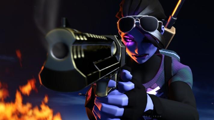 Fortnite Dark Bomber Skin 3840x2160 Wallpaper Teahub Io