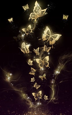 Wallpapers Phone Purple Butterfly With Hd Resolution Butterfly Black Background Hd 1080x1920 Wallpaper Teahub Io