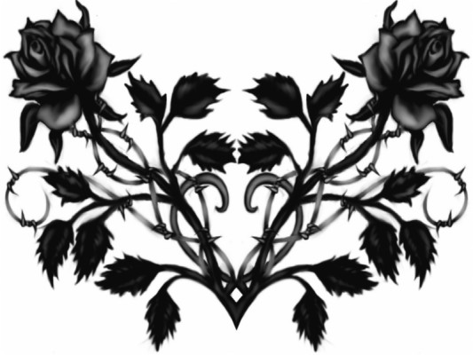 274 2740589 gothic roses art images pictures black rose png