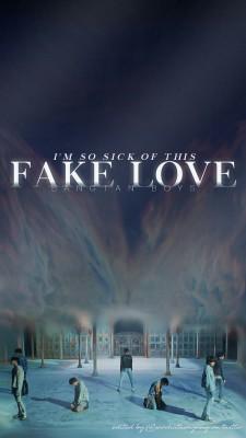 Bt Fake Love Mv 675x1200 Wallpaper Teahub Io