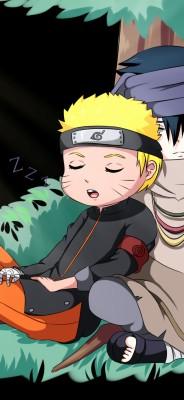 282 2824314 uchiha sasuke uzumaki naruto cute chibi friends cute