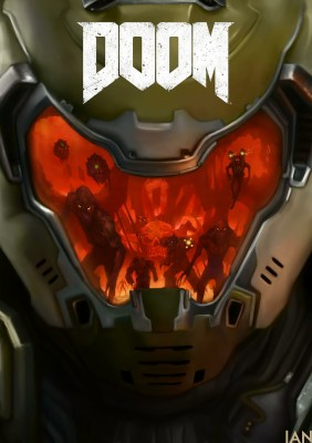 doom slayer wallpaper android