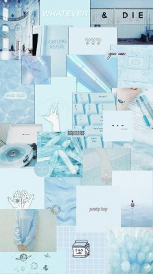 Blue Aesthetic Tumblr Pastel Wallpaper Aesthetic Blue 1080x1620 Wallpaper Teahub Io