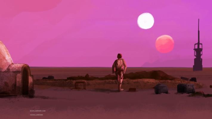 Star Wars Wallpaper Tatooine 2560x1440 Wallpaper Teahub Io