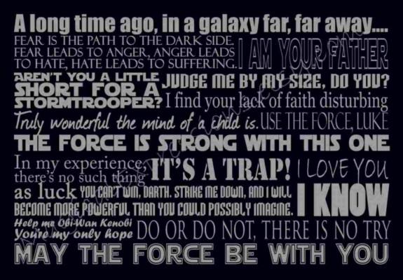 Star Wars Wallpaper Quotes 700x1050 Wallpaper Teahub Io