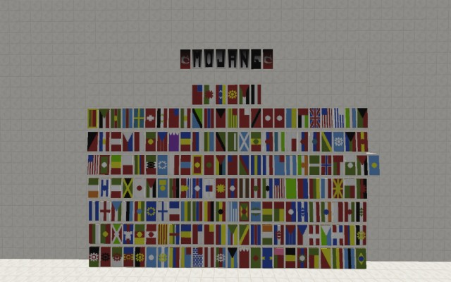 Here S My Shot At The World Flags Using Banners In Minecraft Banner Flags 1440x900 Wallpaper Teahub Io