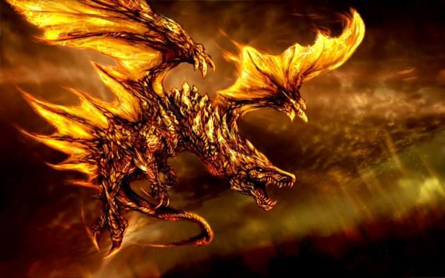 3 31484 fire dragon cool backgrounds