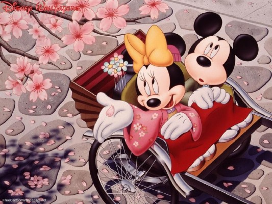 Minnie And Mickey Mouse Wallpapers Wallpaper Cave Romantic Mickey And Minnie Mouse 962x698 Wallpaper Teahub Io