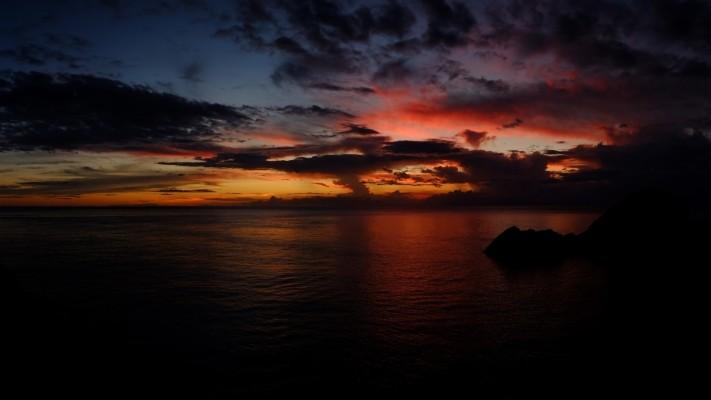 3 38883 dark sunset hd dark sunset