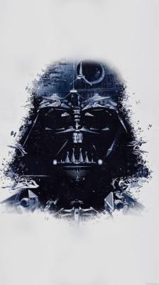 Star Wars Tumblr Wallpaper Darth Vader 630x1136 Wallpaper Teahub Io