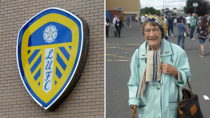 Leeds United Set To Pay Tribute To Incredible 64 Year Edna Leeds United 1920x1080 Wallpaper Teahub Io