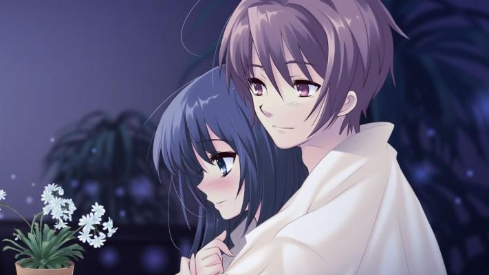 309 3096104 anime couple simple wallpaper hd anime cover photo