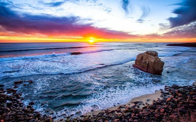 Surfer Sunset San Diego 1024x768 Wallpaper Teahub Io