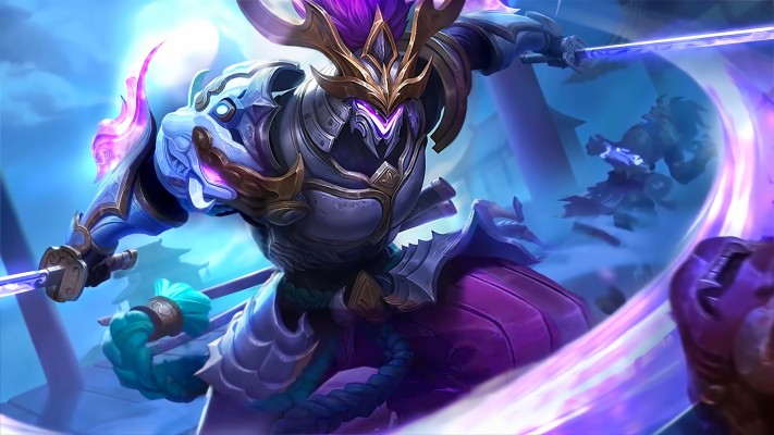 Moskov Twilight Dragon Skin Mobile Legends 4k Moskov Mobile Legends Wallpaper Hd 2560x1440 Wallpaper Teahub Io