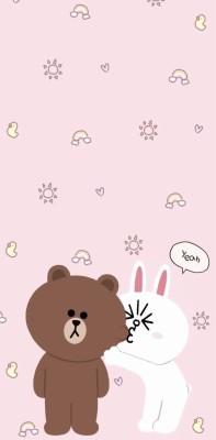 315 3158297 pink kartun wallpaper lucu