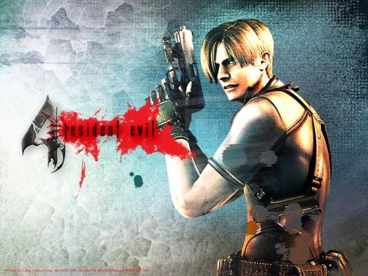 Resident Evil 4 Wallpaper Leon Resident Evil 4 Wallpaper Em Hd
