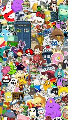 Cartoon Network Wallpaper Iphone 540x960 Wallpaper Teahub Io