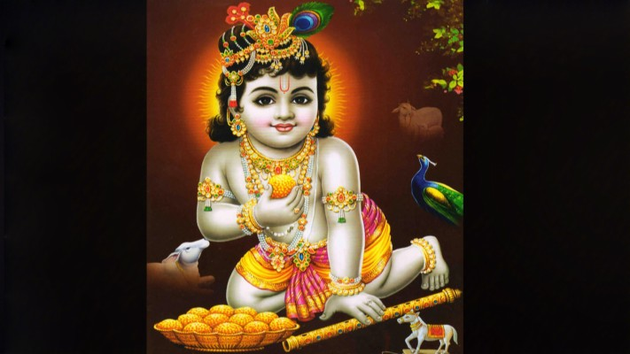 Baby Krishn Images Hd Free Download Krishna Mobile Wallpaper Full Hd 1920x1080 Wallpaper Teahub Io