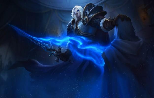Photo Wallpaper King Wow Lich King Warcraft Blizzard Arthas