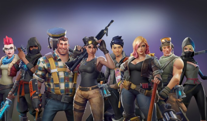 All Characters Video Game Fortnite Wallpaper Fortnite Hd 1366x768 Wallpaper Teahub Io