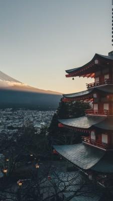 Japanese Iphone 8 Plus Wallpaper Mount Fuji 1080x1920 Wallpaper Teahub Io
