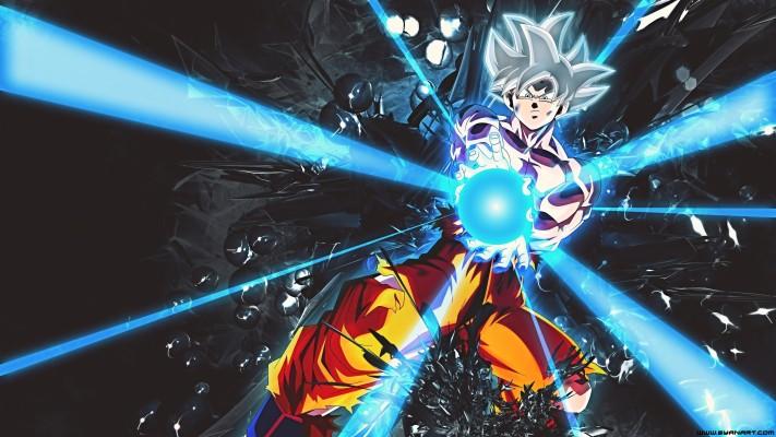 4k Wallpaper Of Goku Ultra Instinct Gif 1280x720 Wallpaper Teahub Io