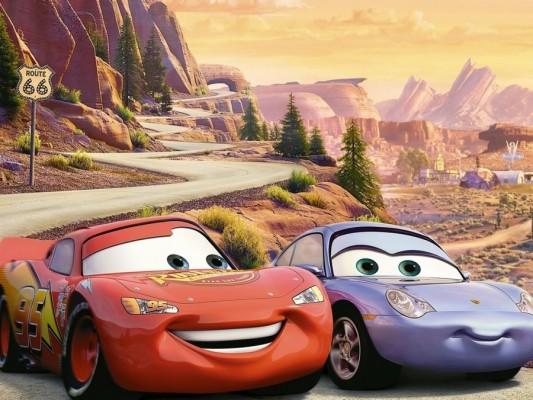 Wallpaper Cars Sally Lightning Mcqueen Mcqueen Cars The