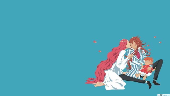 Studio Ghibli Aesthetic Ponyo 1920x1080 Wallpaper Teahub Io