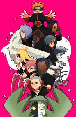 344 3445439 all akatsuki members wallpaper iphone