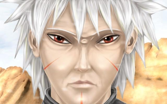 344 3446417 tobirama senju red eyes manga senju clan naruto