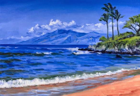 35 351682 pemandangan alam gunung dan pantai