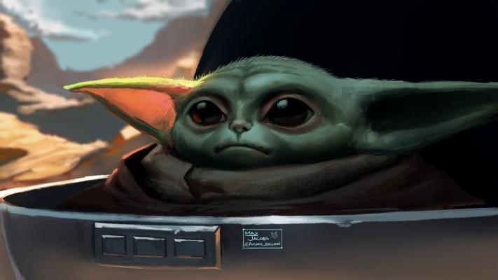 Baby Yoda - Baby Yoda The Mandalorian - 1920x1080 ...