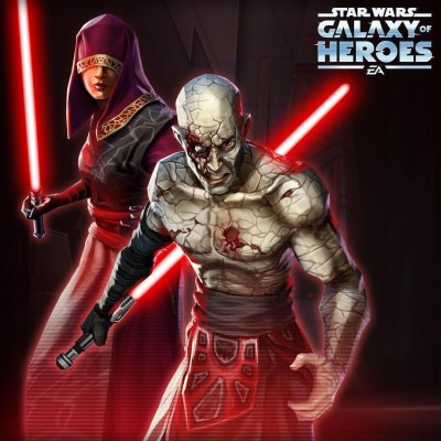 Star Wars Galaxy Of Heroes Sith Raid 1080x1080 Wallpaper Teahub Io