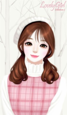 Cute Anime Korean Girl 720x1280 Wallpaper Teahub Io