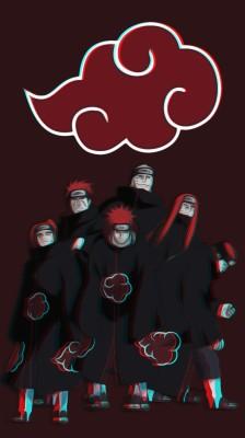 Naruto Sd Akatsuki Pain 1366x768 Wallpaper Teahub Io