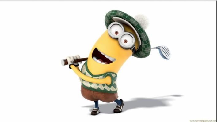 44 444828 gambar dan wallpapers minions lucu minions golf
