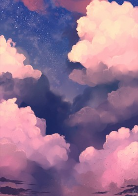 Aesthetic Cloud Background - Aesthetic Clouds - 736x1308 ...