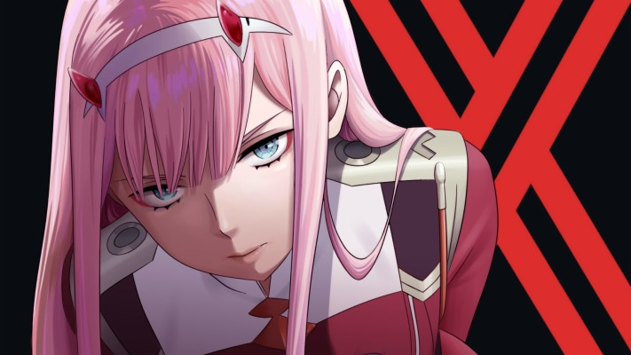 Red Anime Character Wallpaper, Zero Two , Darling In ...