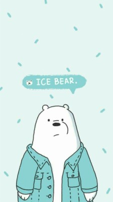 Ice Bear We Bare Bears 1125x2436 Wallpaper Teahub Io