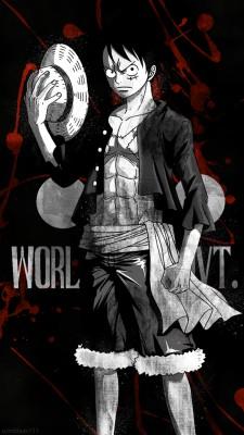 D Luffy Hd One Piece 1242x2208 Wallpaper Teahub Io