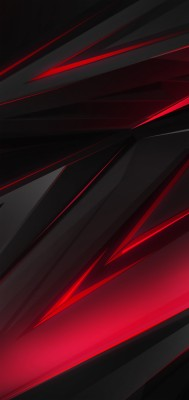 Black Red Abstract Polygon 3d 4k Black Shark 2 Wallpaper 4k 1440x3040 Wallpaper Teahub Io