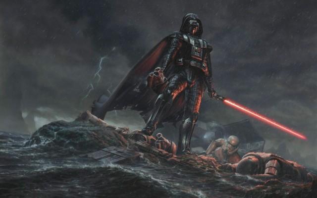 Photo Wallpaper Star Wars Darth Vader Fantasy Minimalism William Shakespeare S Star Wars 1332x850 Wallpaper Teahub Io