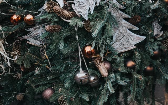 Aesthetic Christmas Pine Branch 960x640 Wallpaper Teahub Io