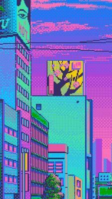 Vaporwave Wallpaper 4k Iphone 563x1000 Wallpaper Teahub Io