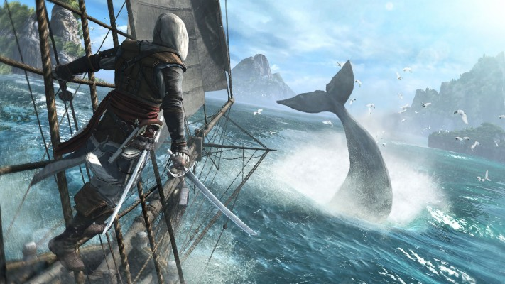 Assassins Creed Black Flag Flag 2048x576 Wallpaper Teahub Io